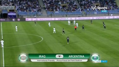 Full match: Iraq vs Argentina