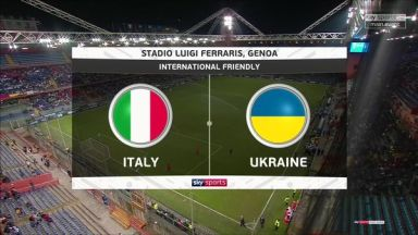 Full match: Italy vs Ukraine