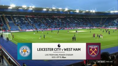 Full match: Leicester City vs West Ham United