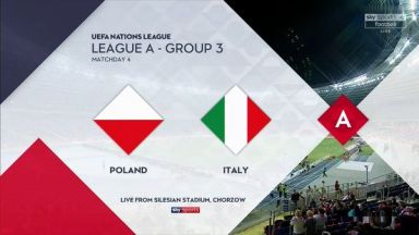 Full match: Poland vs Italy