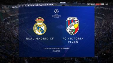 Full match: Real Madrid vs Viktoria Plzeň