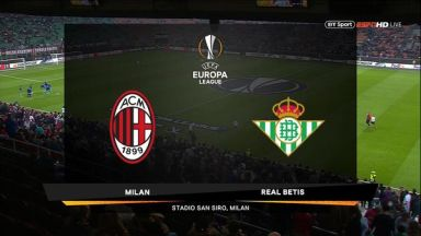 Full match: AC Milan vs Real Betis