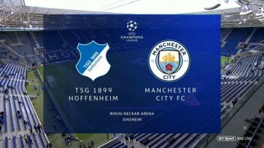 Full match: Hoffenheim vs Manchester City