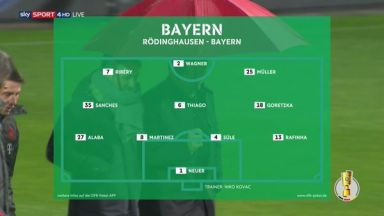 Full match: Rödinghausen vs Bayern Munich