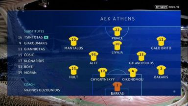 Full match: AEK Athens vs Ajax