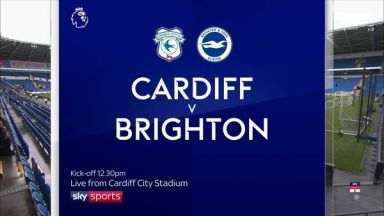 Full match: Cardiff City vs Brighton & Hove Albion
