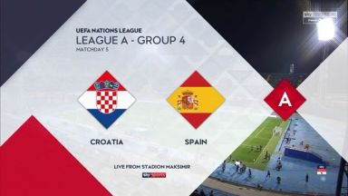 Full match: Croatia vs Spain