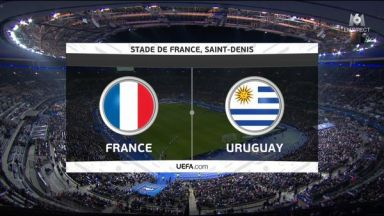 Full match: France vs Uruguay
