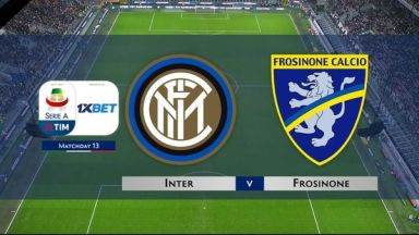 Full match: Inter Milan vs Frosinone