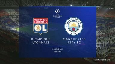 Full match: Olympique Lyonnais vs Manchester City