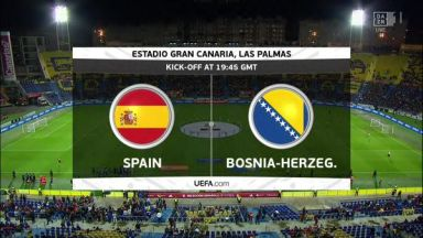 Full match: Spain vs Bosnia-Herzegovina