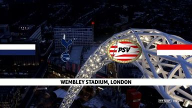 Full match: Tottenham Hotspur vs PSV