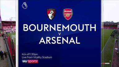 Full match: AFC Bournemouth vs Arsenal