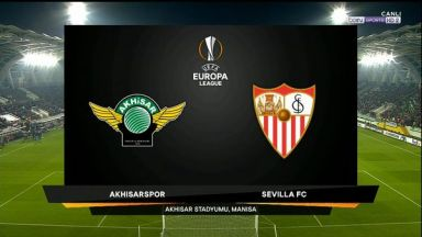 Full match: Akhisarspor vs Sevilla
