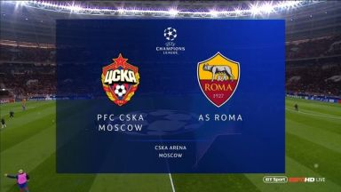 Full match: CSKA Moskva vs Roma