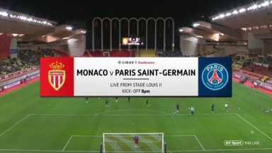 Full match: Monaco vs PSG