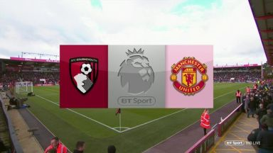 Full match: AFC Bournemouth vs Manchester United