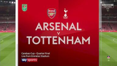 Full match: Arsenal vs Tottenham Hotspur