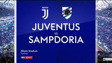 Full match: Juventus vs Sampdoria