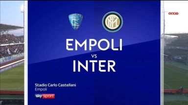Full match: Empoli vs Inter Milan