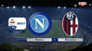 Full match: Napoli vs Bologna