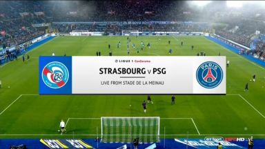 Full match: Strasbourg vs PSG