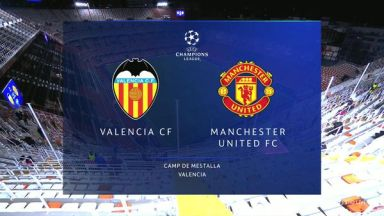 Full match: Valencia vs Manchester United