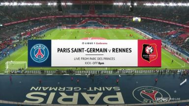 Full match: PSG vs Rennes