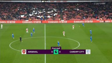 Full match: Arsenal vs Cardiff City