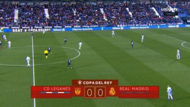 Full match: Leganes vs Real Madrid