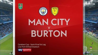 Full match: Manchester City vs Burton Albion