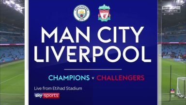 Full match: Manchester City vs Liverpool