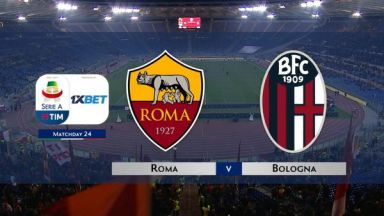 Full match: Roma vs Bologna