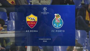 Full match: Roma vs Porto