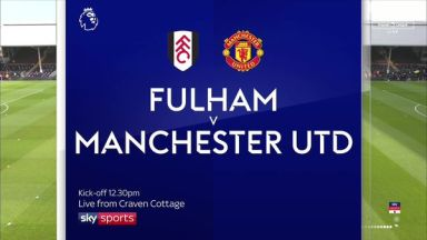 Full match: Fulham vs Manchester United