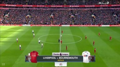 Full match: Liverpool vs AFC Bournemouth