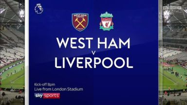 Full match: West Ham United vs Liverpool