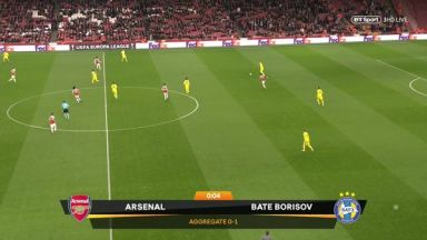 Full match: Arsenal vs BATE