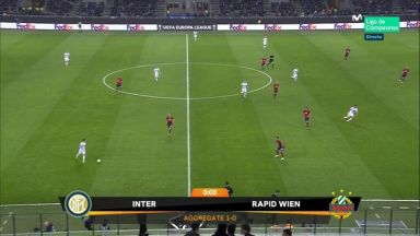Full match: Inter Milan vs Rapid Wien
