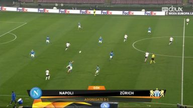 Full match: Napoli vs Zurich