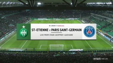 Full match: Saint-Etienne vs PSG