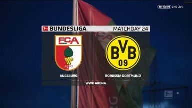 Full match: Augsburg vs Borussia Dortmund
