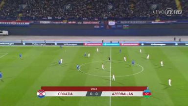 Full match: Croatia vs Azerbaijan
