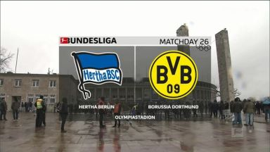 Full match: Hertha BSC vs Borussia Dortmund