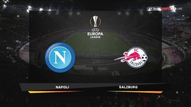 Full match: Napoli vs Salzburg