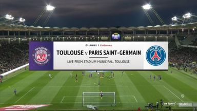 Full match: Toulouse vs PSG