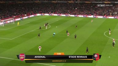 Full match: Arsenal vs Rennes