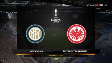 Full match: Inter Milan vs Eintracht Frankfurt