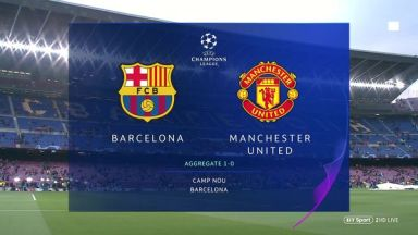 Full match: Barcelona vs Manchester United