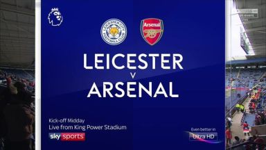 Full match: Leicester City vs Arsenal